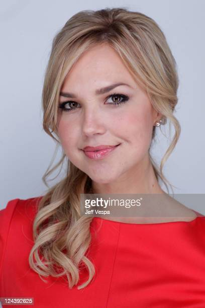 Actress Arielle Kebbel of 'The Brooklyn Brothers Beat the Best' poses for a portrait during 2011 Toronto Film Festival on September 9 2011 in Toronto...