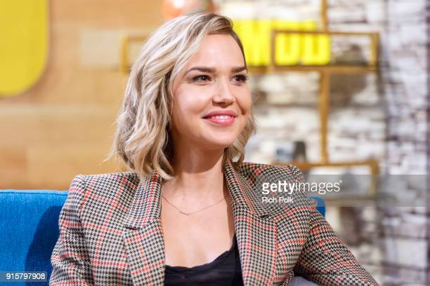 Actress Arielle Kebbel visits 'The IMDb Show' on January 30th 2018 in Studio City California This episode of 'The IMDb Show' airs on February 8th 2018