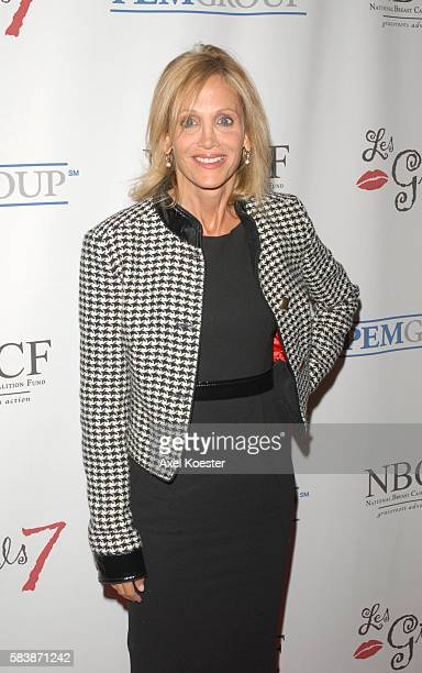 Actress Arleen Sorkin arrives at the 7th Annual AllStar 'Les Girls' event to benefit the National Breast Cancer Coalition Fund at the Avalon in...