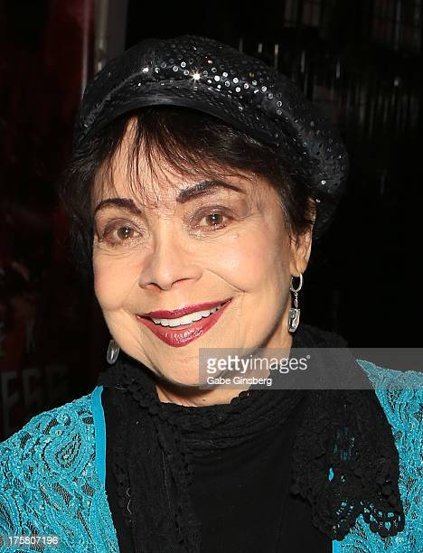 Actress Arlene Martel attends the 12th annual Star Trek convention at the Rio Hotel Casino on August 8 2013 in Las Vegas Nevada