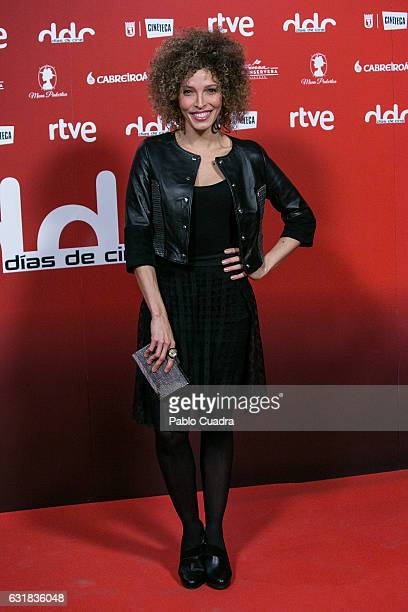 Actress Arlette Torres attends 'Dias de Cine' awards 2016 at Cineteca on January 16 2017 in Madrid Spain