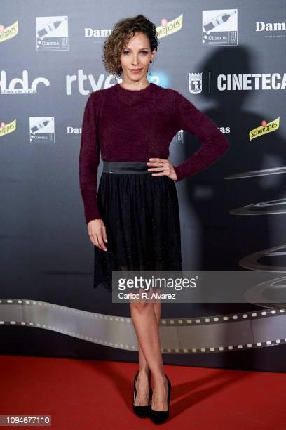 Actress Arlette Torres attends 'Dias de Cine' awards at Cineteca on January 15 2019 in Madrid Spain