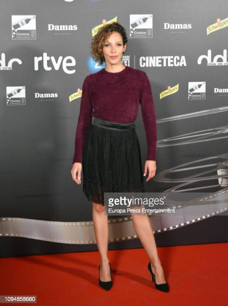 Actress Arlette Torres attends the 'Dias de Cine' awards on January 15 2019 in Madrid Spain