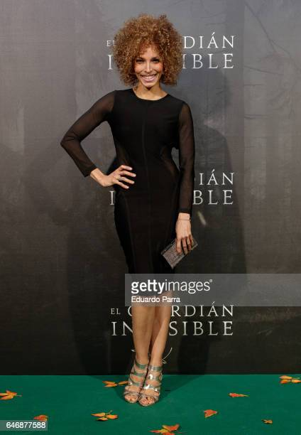 Actress Arlette Torres attends the 'El guardian invisible' premiere at Capitol cinema on March 1 2017 in Madrid Spain