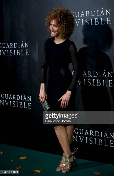 Actress Arlette Torres during 'El Guardian Invisible' Madrid Premiere on March 1 2017 in Madrid Spain