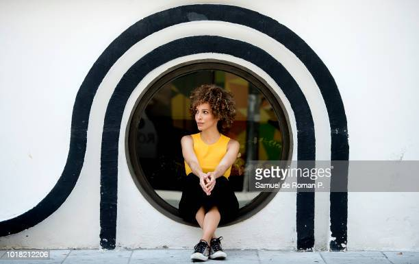 Actress Arlette Torres poses during a portrait session on August 9 2018 in Madrid Spain
