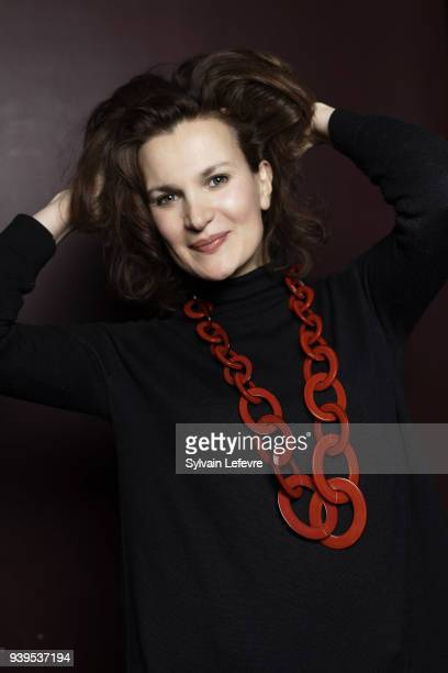 Actress Armelle is photographed for Self Assignment on March 2018 in Valenciennes France