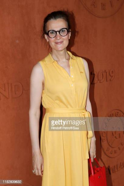 Actress Armelle Lesniak aka Armelle attend the 2019 French Tennis Open Day Six at Roland Garros on May 31 2019 in Paris France