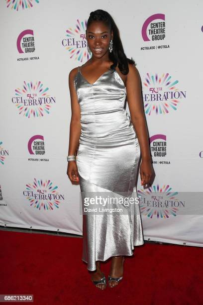 Actress Aryana Williams attends the Center Theatre Group's 50th Anniversary Celebration at the Ahmanson Theatre on May 20 2017 in Los Angeles...