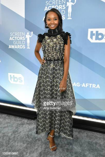 Actress Ashleigh LaThrop attends the 26th Annual Screen ActorsGuild Awards at The Shrine Auditorium on January 19, 2020 in Los Angeles, California.