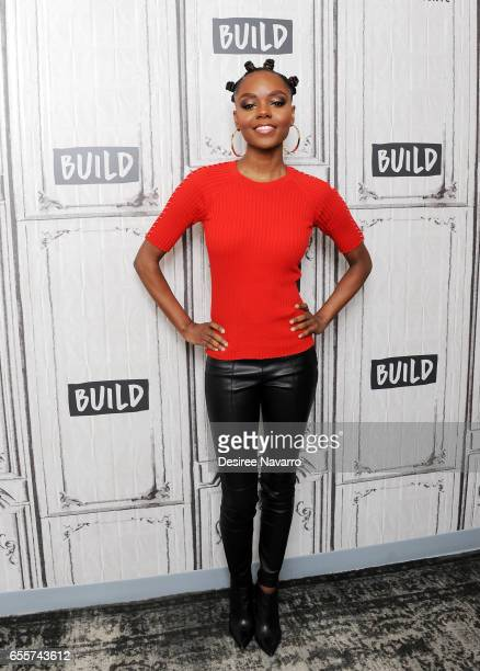 Actress Ashleigh Murray attends Build Series to discuss 'Riverdale' at Build Studio on March 20 2017 in New York City