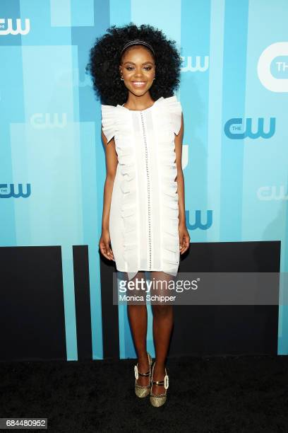 Actress Ashleigh Murray attends the 2017 CW Upfront on May 18 2017 in New York City