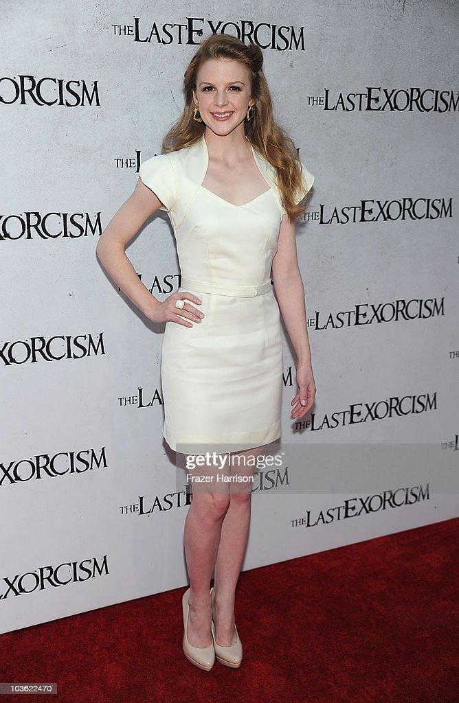 "Screening Of Lionsgate's ""The Last Exorcism"" - Arrivals : Foto jornalística"