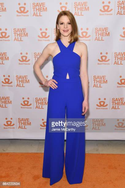 Actress Ashley Bell attends the 2017 Best Friends Benefit To Save Them All on April 3 2017 in New York City