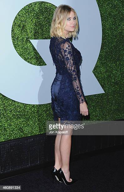 Actress Ashley Benson arrives at the 2014 GQ Men Of The Year Party at Chateau Marmont on December 4 2014 in Los Angeles California