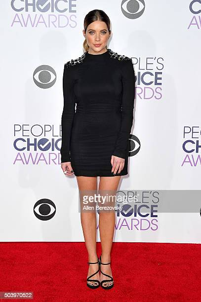 Actress Ashley Benson arrives at the People's Choice Awards 2016 at Microsoft Theater on January 6 2016 in Los Angeles California