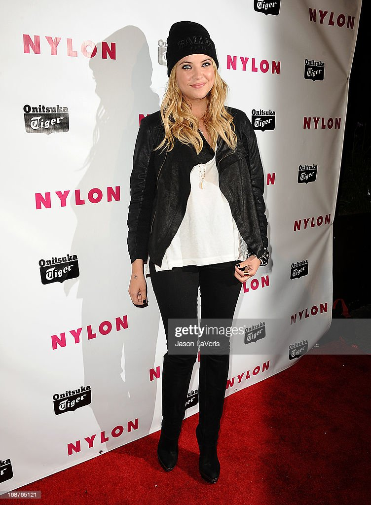 Actress Ashley Benson attends Nylon Magazine's Young Hollywood issue event at The Roosevelt Hotel on May 14, 2013 in Hollywood, California.