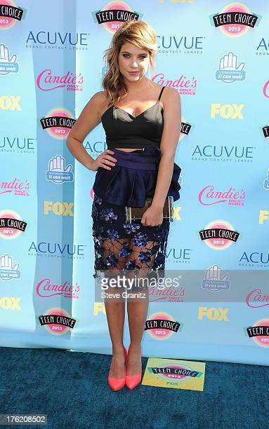 Actress Ashley Benson attends the 2013 Teen Choice Awards at Gibson Amphitheatre on August 11 2013 in Universal City California