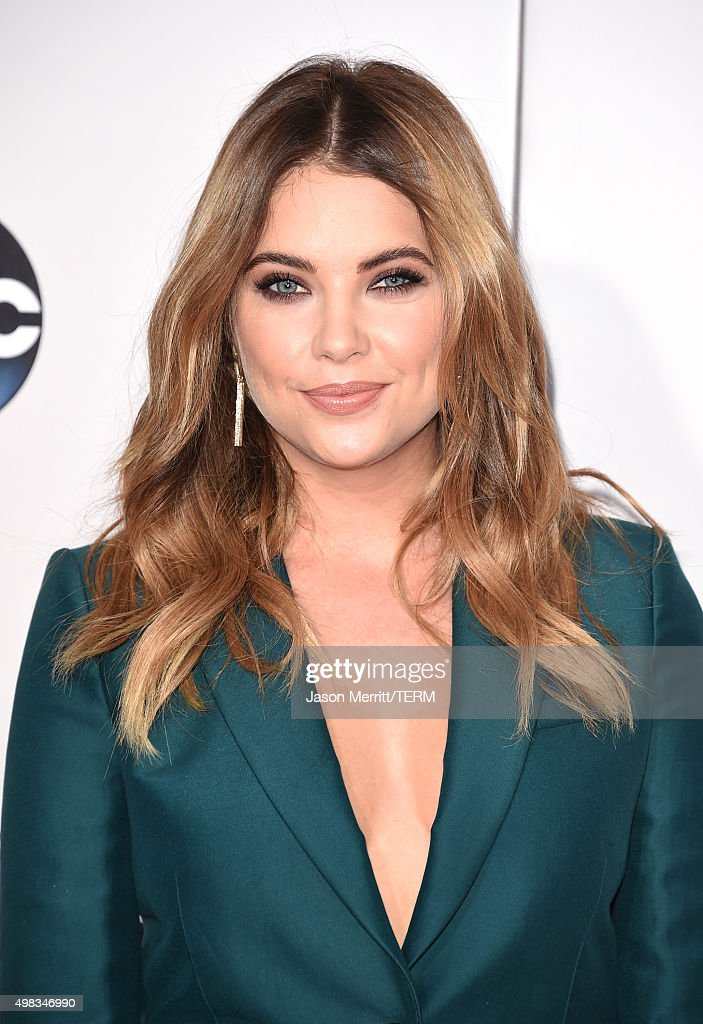 Actress Ashley Benson attends the 2015 American Music Awards at Microsoft Theater on November 22, 2015 in Los Angeles, California.