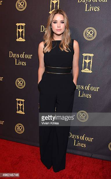 Actress Ashley Benson attends the Days Of Our Lives' 50th Anniversary Celebration at Hollywood Palladium on November 7 2015 in Los Angeles California
