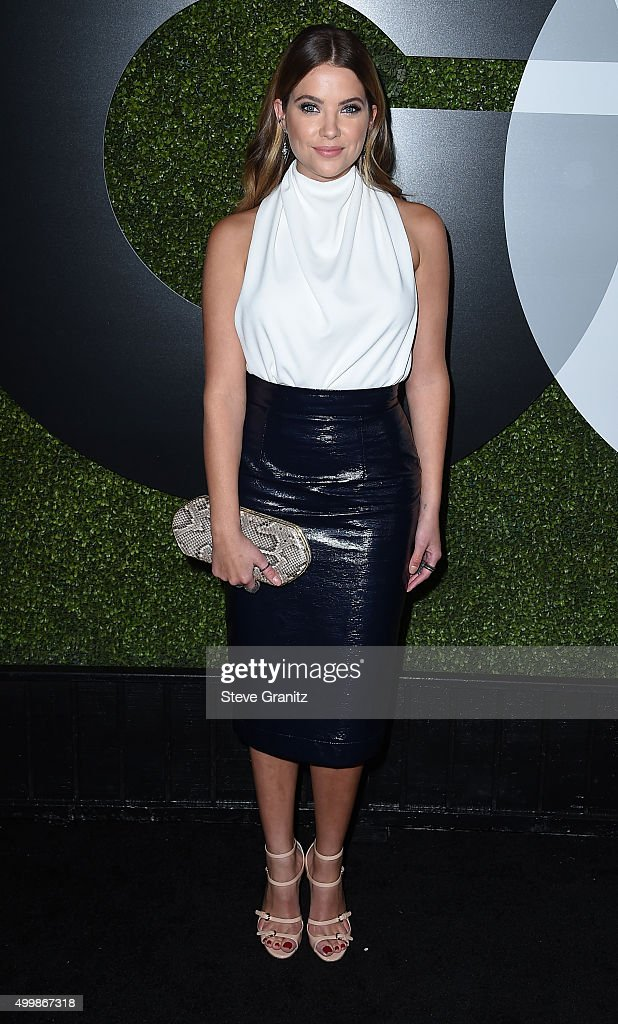 Actress Ashley Benson attends the GQ 20th Anniversary Men Of The Year Party at Chateau Marmont on December 3, 2015 in Los Angeles, California.