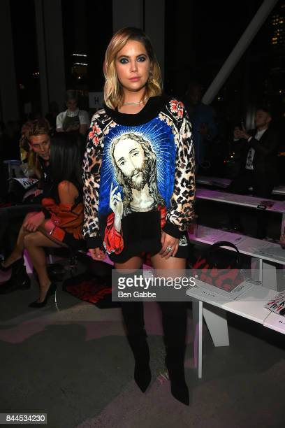Actress Ashley Benson attends the Jeremy Scott Fashion Show during New York Fashion Week at Spring Studios on September 8 2017 in New York City