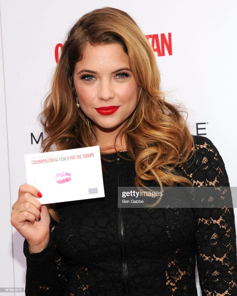 """""""Kisses For The Troops"""" Campaign Hosted By Ashley Benson"""