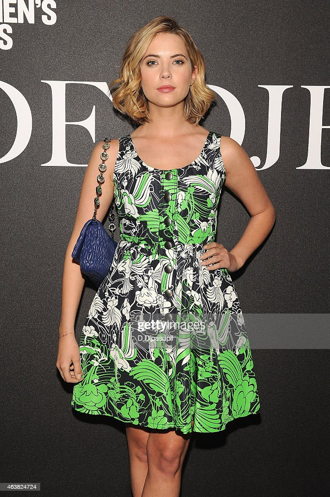 Actress Ashley Benson attends the Miu Miu Women's Tales 9th Edition 'De Djess' screening on February 18, 2015 in New York City.