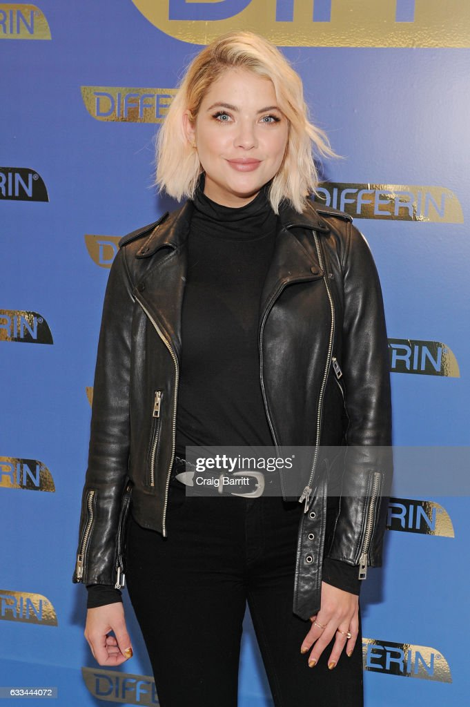 National Launch Of Differin Gel With Ashley Benson At Nestle SHIELD Center In New York City