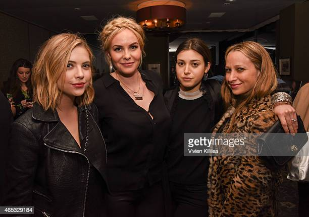 Actress Ashley Benson designer Nikki Erwin stylist Jamie Schneider and designer Jennifer Meyer attend the Established Jewelry By Nikki Erwin Launch...