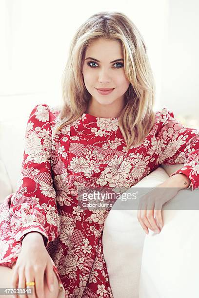 Actress Ashley Benson is photographed for Fashion Magazine on April 13 2015 in Los Angeles California Published Image