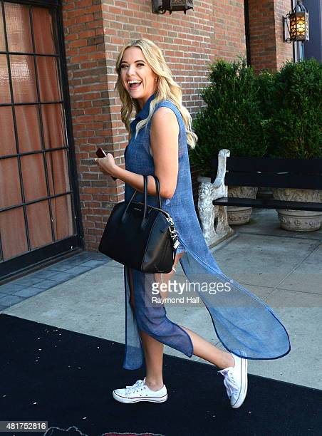 Actress Ashley Benson is seen walking in Soho on July 23 2015 in New York City