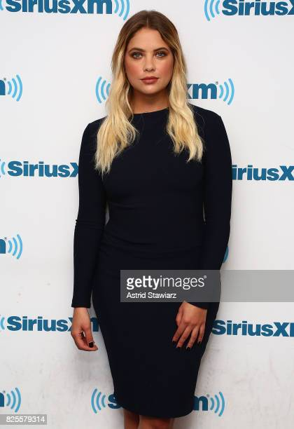 Actress Ashley Benson visits the SiriusXM Studios on August 2 2017 in New York City
