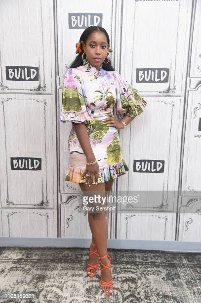 Actress Ashley Blaine Featherson visits the Build Series to discuss the Netflix series Dear White People at Build Studio on July 30 2019 in New York...