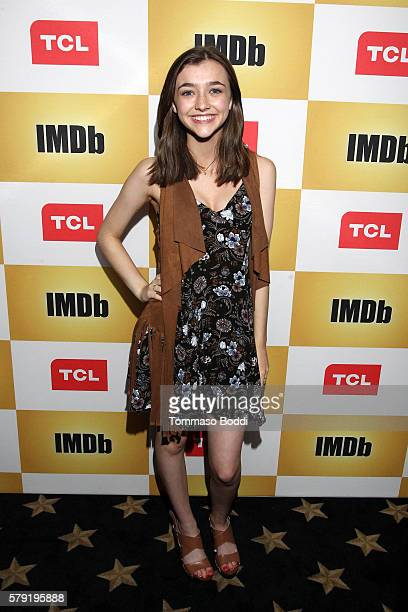Actress Ashley Boettcher attends the IMDb Yacht Party Presented By TCL at on July 22 2016 in San Diego California