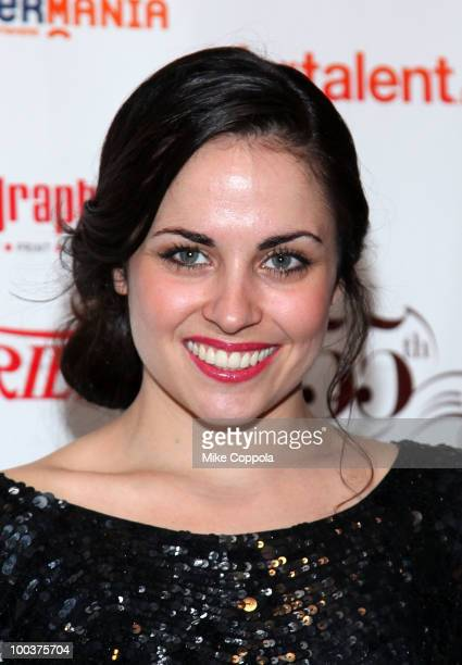 Actress Ashley C Williams arrives at the 55th Annual Drama Desk Awards at the FH LaGuardia Concert Hall at Lincoln Center on May 23 2010 in New York...