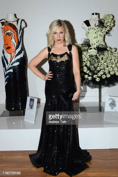 Actress Ashley Eckstein attends The Batman Experience powered by ATT and ComicCon Museum character Hall Of Fame induction at Comic Con Museum on July...