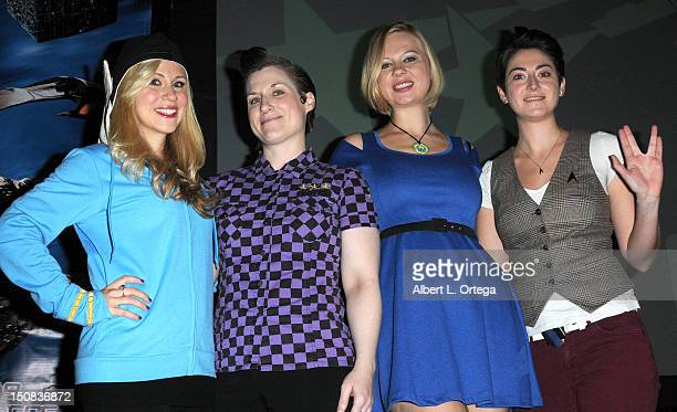 Actress Ashley Eckstein participates in the 11th Annual Official Star Trek Convention day 2 held at the Rio Hotel Casino on August 10 2012 in Las...