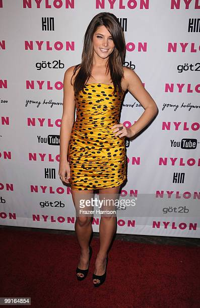 Actress Ashley Green arrives at the NYLON YouTube Young Hollywood Party at the Roosevelt Hotel on May 12 2010 in Hollywood California