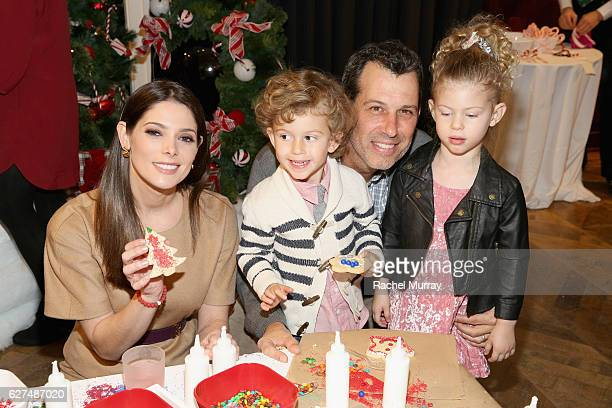 Actress Ashley Greene and guests attend Brooks Brothers holiday celebration with St Jude Children's Research Hospital on December 3 2016 in Beverly...