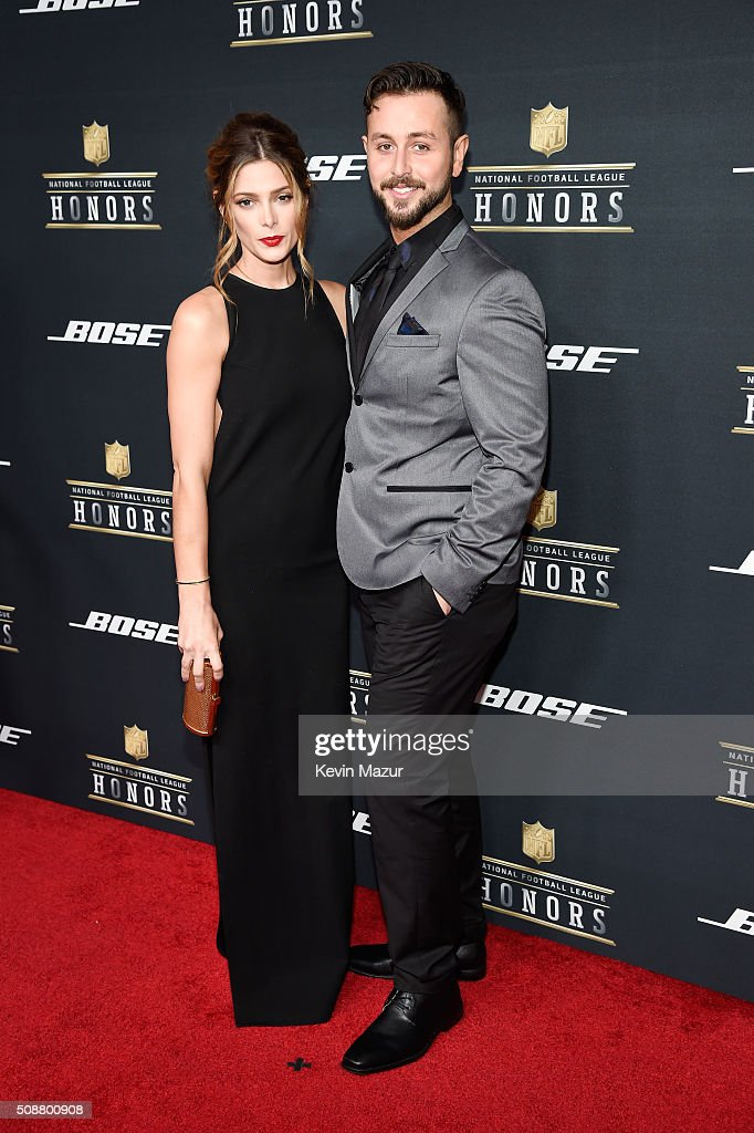 Actress Ashley Greene and Paul Khoury attend the 5th annual NFL Honors at Bill Graham Civic Auditorium on February 6, 2016 in San Francisco, California.