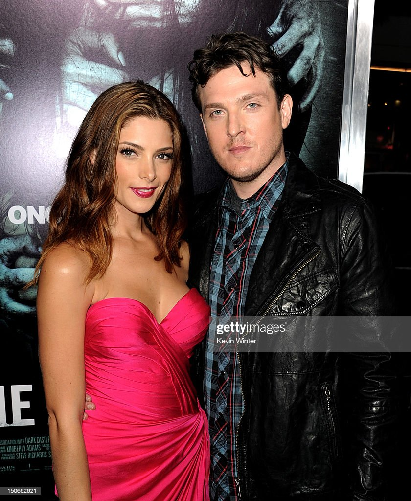 Actress Ashley Greene (L) and writer/director Todd Lincoln arrive at the premiere of Warner Bros. Pictures 'The Apparition' at the Chinese Theatre on August 23, 2012 in Los Angeles, California.