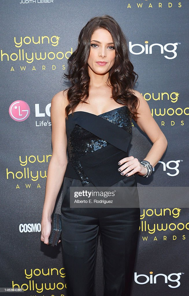 Actress Ashley Greene arrives at 14th Annual Young Hollywood Awards presented by Bing at Hollywood Athletic Club on June 14, 2012 in Hollywood, California.