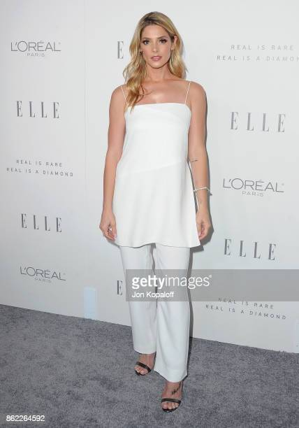Actress Ashley Greene arrives at ELLE's 24th Annual Women in Hollywood Celebration at Four Seasons Hotel Los Angeles at Beverly Hills on October 16,...