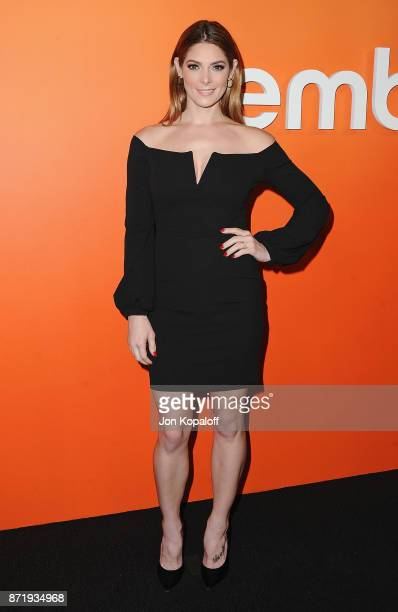 Actress Ashley Greene arrives at Ember Launch - Celebrating A Journey Through Temperature And Taste at Goya Studios on November 8, 2017 in Los...