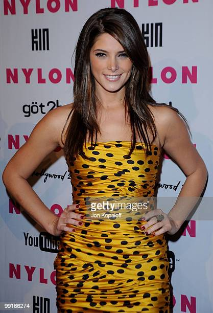 Actress Ashley Greene arrives at NYLON Magazine's May Issue Young Hollywood Launch Party at The Roosevelt Hotel on May 12 2010 in Hollywood California