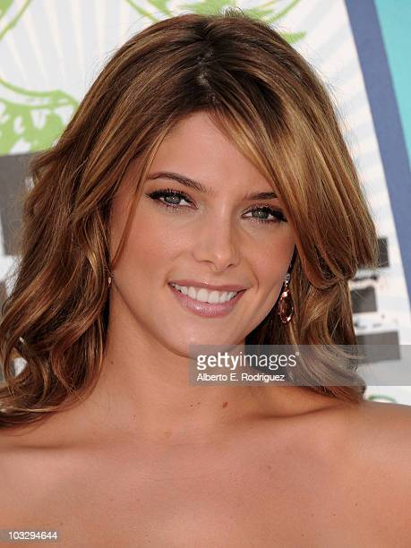 Actress Ashley Greene arrives at the 2010 Teen Choice Awards at Gibson Amphitheatre on August 8 2010 in Universal City California