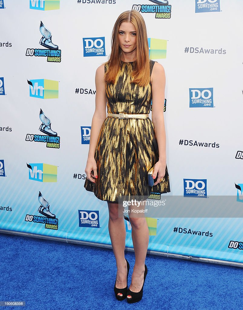 Actress Ashley Greene arrives at the DoSomething.org And VH1's 2012 Do Something Awards at the Barker Hangar on August 19, 2012 in Santa Monica, California.