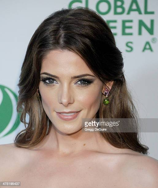 Actress Ashley Greene arrives at the Global Green USA's 11th Annual PreOscar Party at Avalon on February 26 2014 in Hollywood California