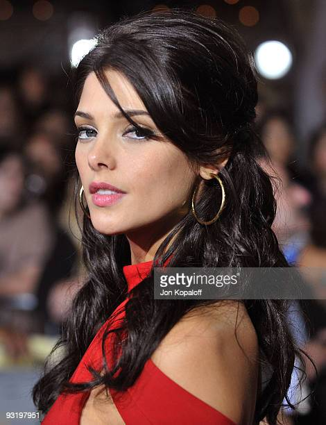 Actress Ashley Greene arrives at the Los Angeles Premiere jkThe Twilight Saga New Moon at Mann Bruin Theatre on November 16 2009 in Westwood...